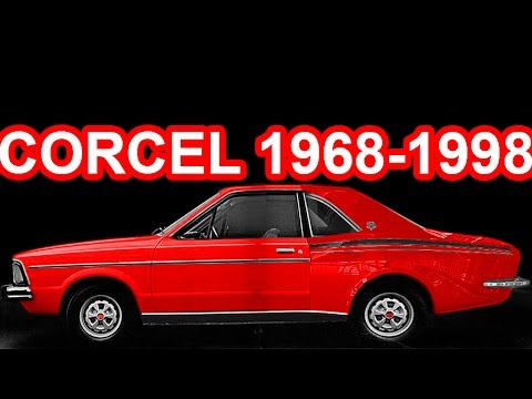 HISTÓRIA Ford Corcel, Belina, Pampa, Del Rey & Scala 1968-1998 #Ford