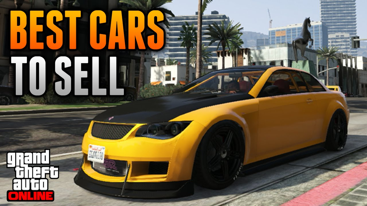 Gta 5 online sell cars in usa