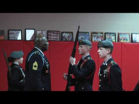 Trotwood Madison Army JROTC unit inspections part two of two