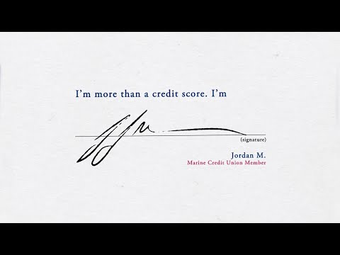 I'm more than a credit score. I'm Jordan.