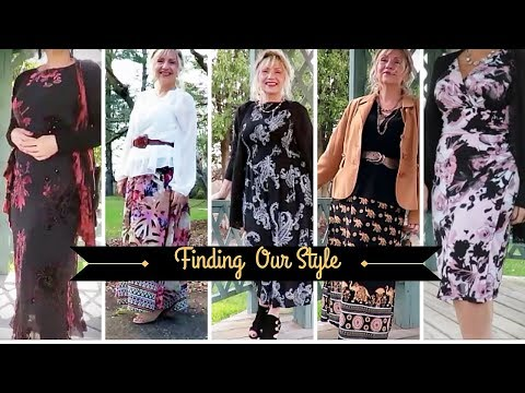 Style & Fashion Over 50 & 60 ! My Spring LookBook -BOHO 2019-TAG!
