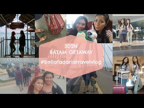 3D2N Batam Weekend Getaway | Travel Vlog | Bella Fadaria