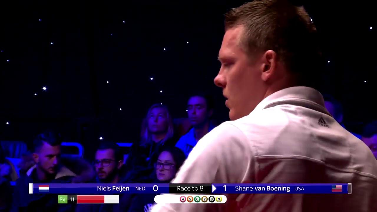 Niels Feijen vs Shane van Boening   2018 World Pool Masters   Final