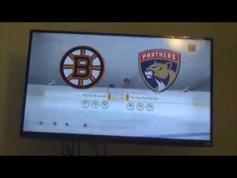 NHL 17 Panthers Vs Bruins