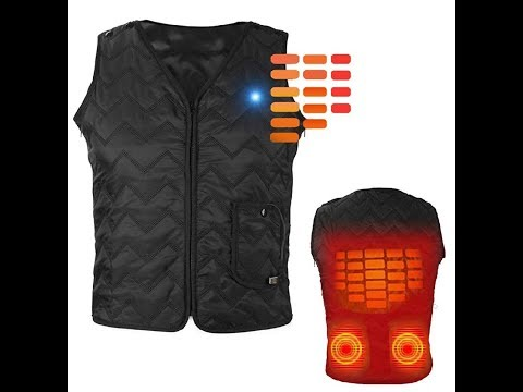 YZFDBSX Heated Electric Vest Unboxing Review By Slick