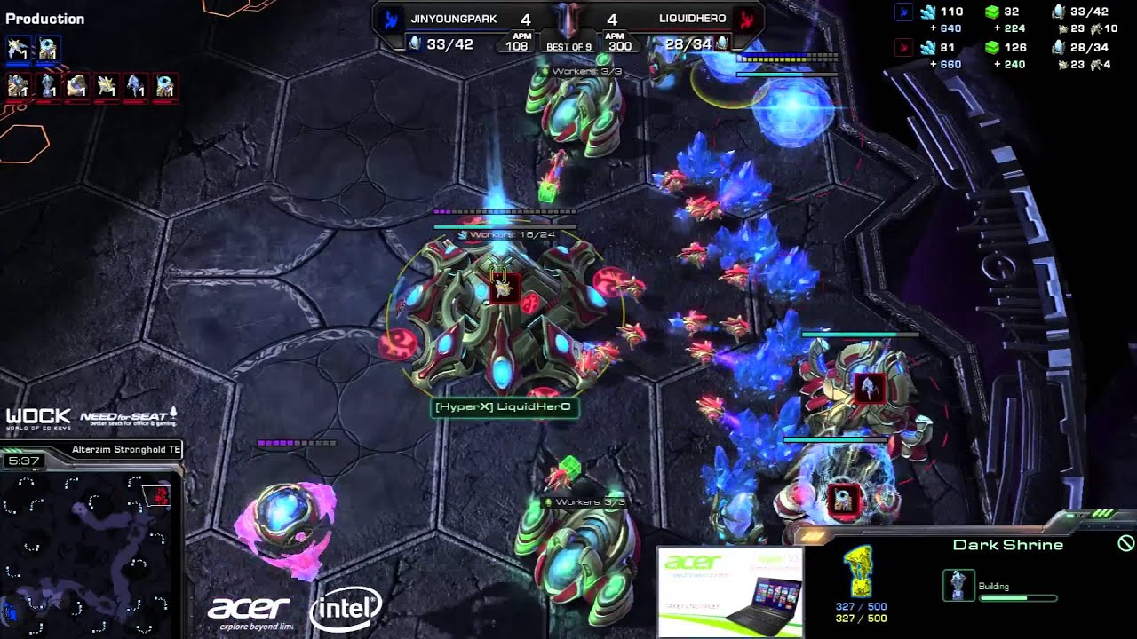 JYP vs. HerO #3 (ATC) - EG vs. TL - Game 9 - StarCraft 2