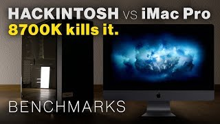 How the 1800 EUR Hackintosh beats an iMac Pro