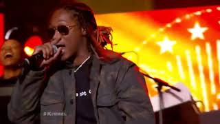 Future & DJ T-Jizzle Perform On Jimmy Kimmel Live! Blow A Bag & Where Ya At