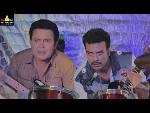 Dawat E Shaadi | Hindi Latest Movie Comedy Scenes | Saleem Pheku and Aziz Naser in Pub