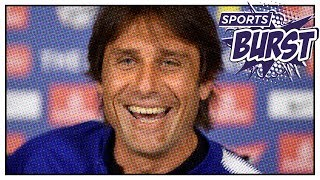 Sports Burst: Conte's hand is up