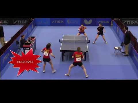Amazing Spain / Netherland Doubles Pair, great play (Scored)