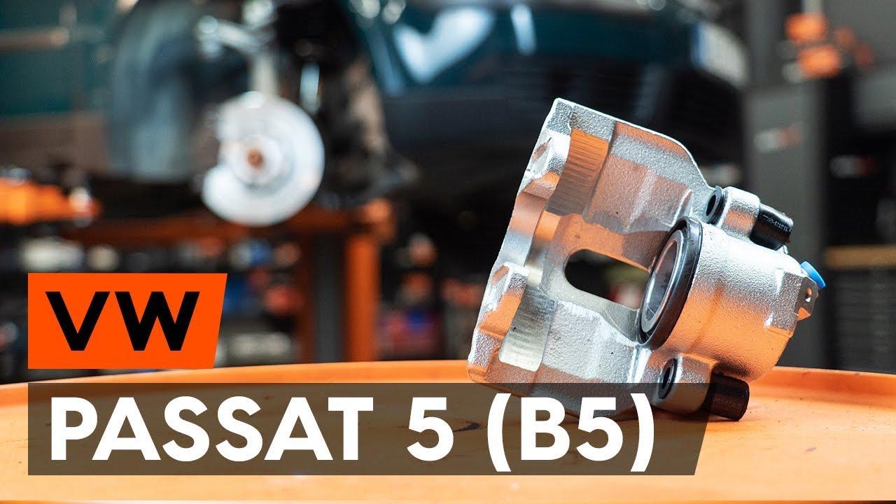 Как заменить передний тормозной суппорт VW PASSAT 5 (B5) [ВИДЕОУРОК AUTODOC]