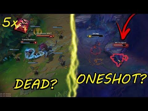 DEAD?! ONESHOT?! Full AD SHACO vs. Full AP SHACO!![ League of Legends ]