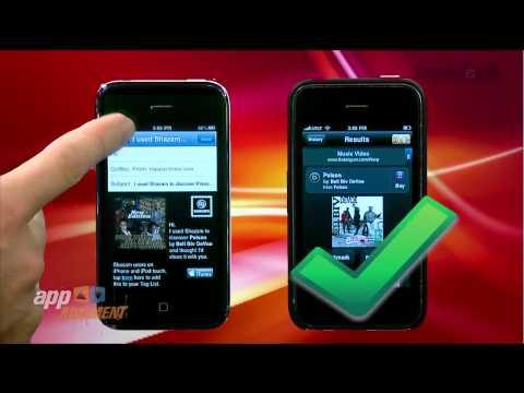 iPhone: Shazam vs. Midomi - AppJudgment