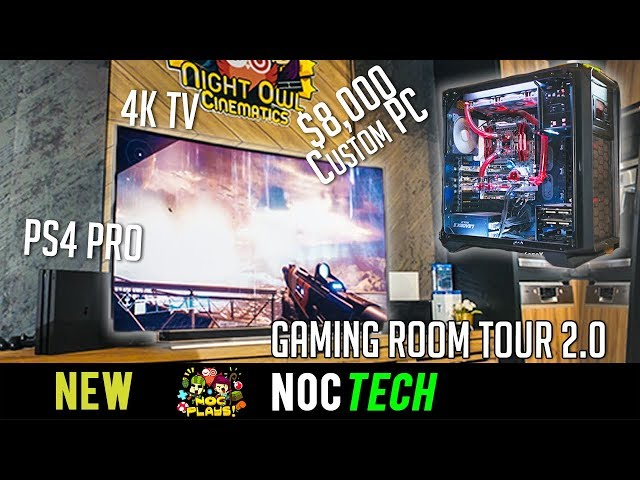 NOC Tech: Gaming Room Tour 2.0
