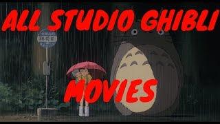 All Studio Ghibli movies