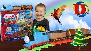 Собираем Томас и Его Друзья Паровозик,  Хот Вилс Trains Toys Thomas and Friends Hot wheels cars