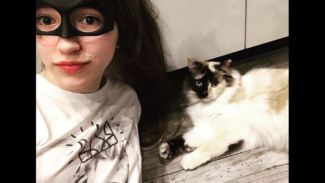 Прическа кошачьи ушки
