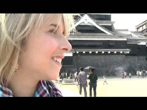 Kumamoto Castle! 熊本城に行ってきました!