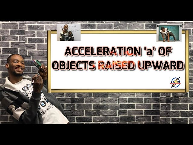 How to Calculate Acceleration 'a' of Bodies Raised Up