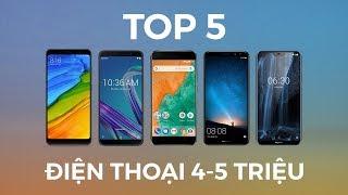 Top 5 smartphone tốt nhất tầm giá 4-5 triệu đồng