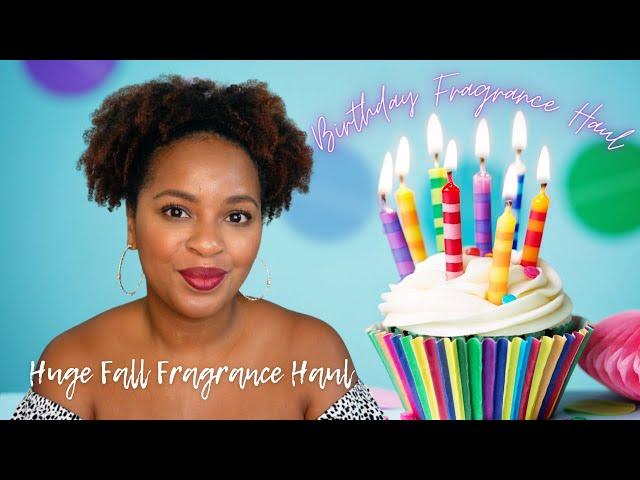 Birthday Fragrance Haul | Huge Fall Fragrance Haul | Niche, Luxury, & Designer Perfume