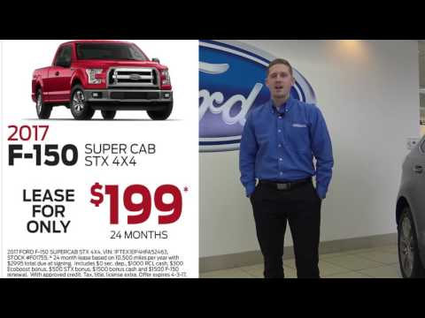 Ford Lease Deals 2017 >> Truck Month At Smail Ford Lease 2017 F 150 Only 199 Mo Youtube