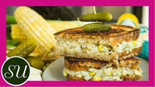 Healthy Tuna Melt Sandwich   Vegan, plant-based vegetarian recipe