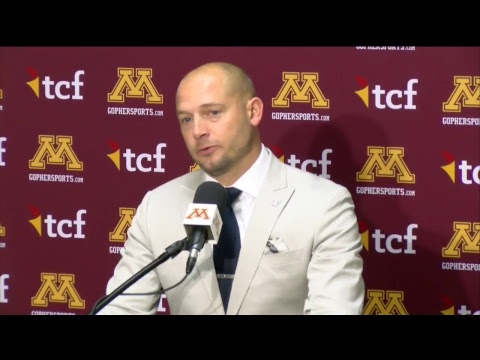 Gopher - Press Conference: P.J. Fleck Previews Gophers at Ohio State | KFAN