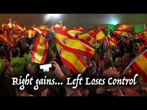 Spain Andalusia Election - Right Wing Gains & Left Wing Loses Power (España Elecciones de Andalucía)