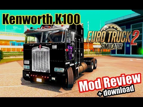 [ETS2 v1.28] Kenworth K100 Mod Review|Euro Truck Simulator 2 KENWORTH K100 MOD
