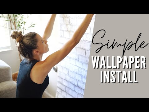 peel-and-stick-wallpaper-how-to-|-renter-friendly-apartment-upgrades