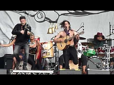 Gogol Bordello, Pala Tute, BST Hyde Park, July 1 2017