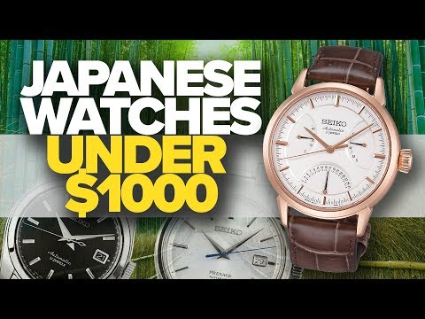Japanese Watches Under $1000 | Awesome Japanese Watches (2019)