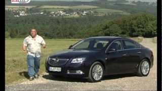2012 Opel Insignia - новые моторы / Тест-драйв