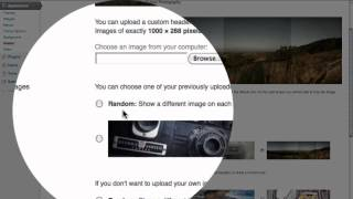 wordpress start to finish part 7 adding multiple header images to the twenty eleven theme
