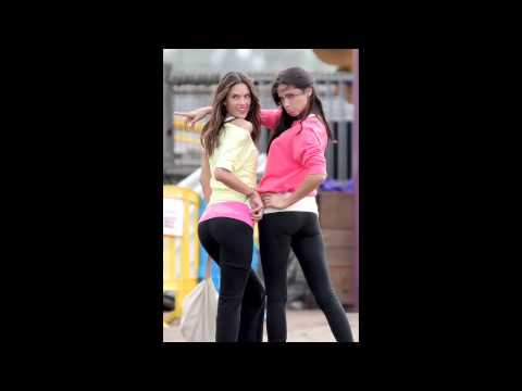 Adriana Lima and Alessandra Ambrosio Victoria's Secret Photoshoot Candids in Los Angeles