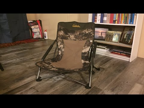 Using A Low Profile Chair For Coyote Hunting