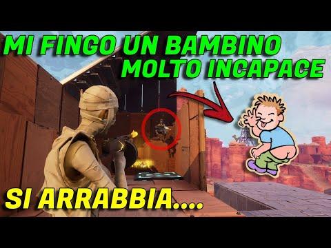 MI FINGO UN NABBO CHE NON SA GIOCARE E TRUFFO UNO YOUTUBER - {SALVA IL MONDO}