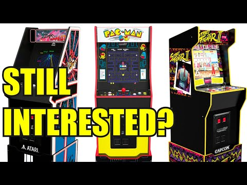 Arcade1up legacy games - are you still interested? from Evil Genius Entertainment