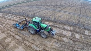 Fiat-Allis, 3x Deutz-Fahr and New Holland - LAND LEVELLING | Part 1/2