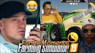 "Funny Moments ""od Zera do Farmera"" Farming Simulator 19 #3  Petrov - Będzie Konfrontacja 