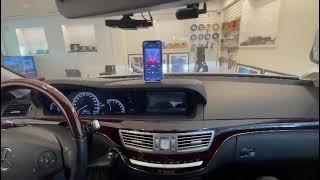 벤츠 S500 2012년식+ 음질전용 블루투스 및 헤드…