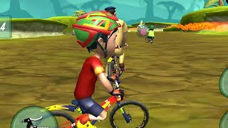 Shiva Bicycle Racing || Shiva Cycle Race || Gameplay - Games