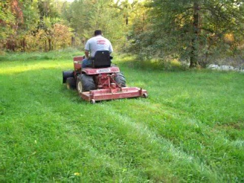 Sold Snapper Mowing With Snow Plow Youtube