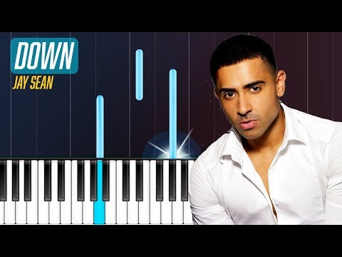 Jay Sean  Down Piano Tutorial  Chords  How To Play