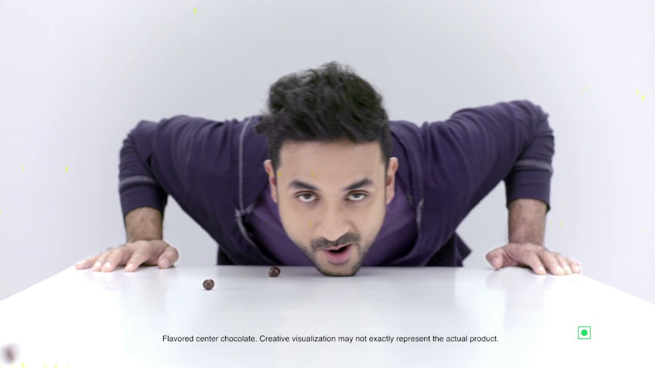 Colors may not represent actual product - Brookside Chocolate India With Vir Das