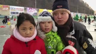 مهرجان صيد الأسماك في كوريا الجنوبية