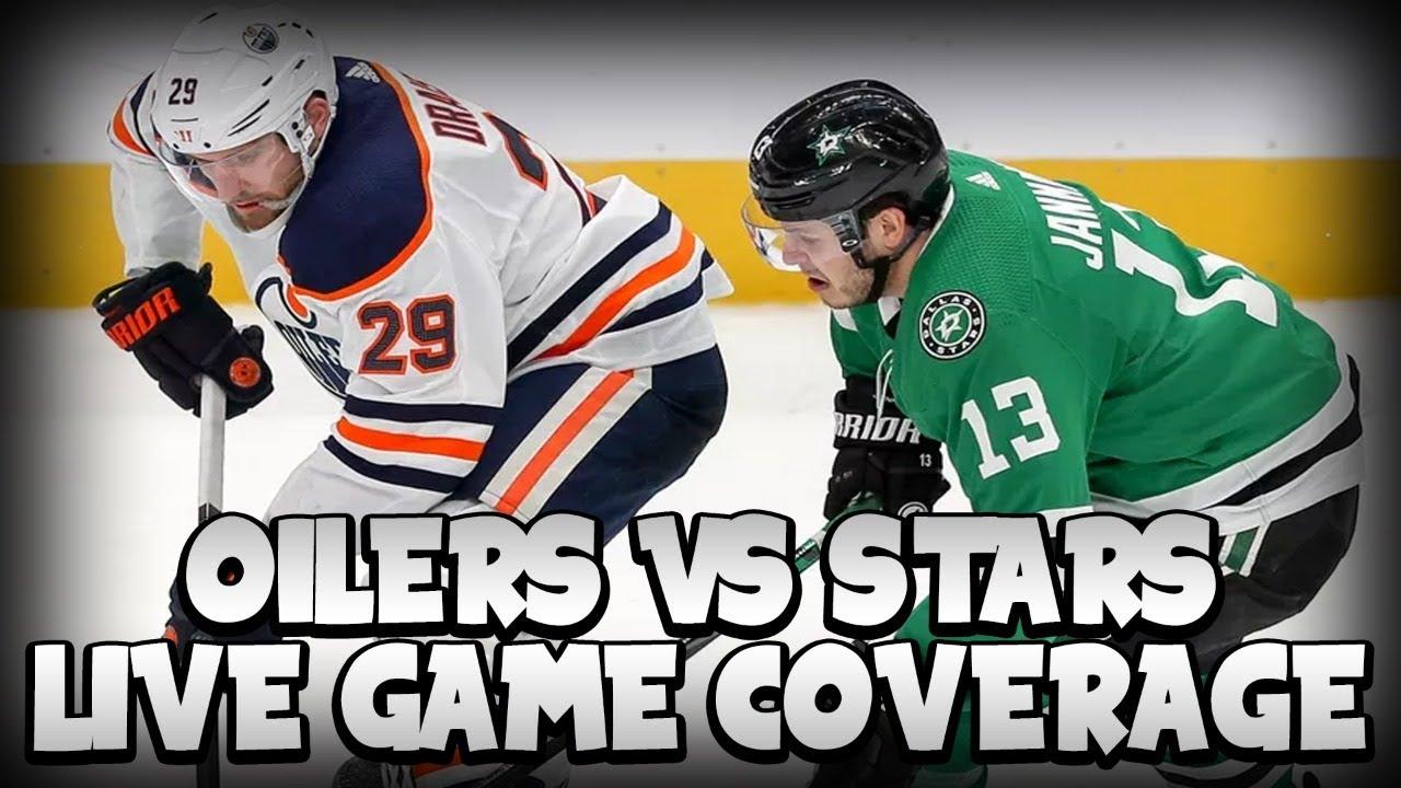 Edmonton Oilers Vs Dallas Stars Fan Game Reaction On Dolynny Tv Youtube