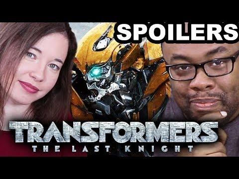 TRANSFORMERS The Last Knight SPOILERS REVIEW ft. Lindsay Ellis [Black Nerd]